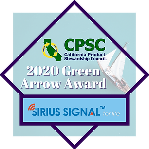 Sirius Signal - 2020 green arrow award.p