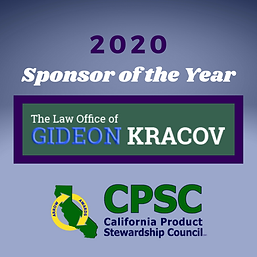 Gideon Kracov Law - 2020 Sponsor of the