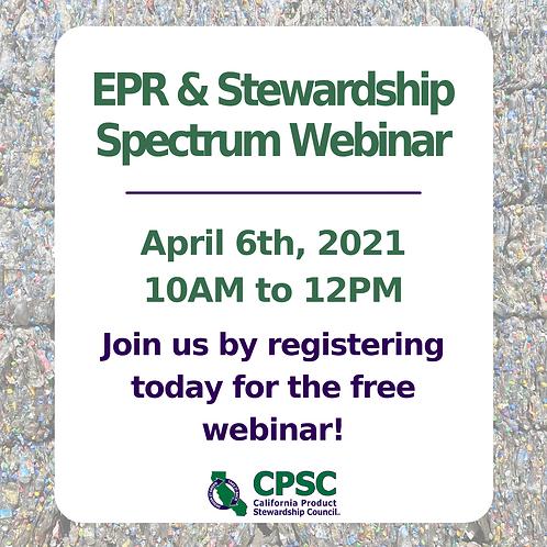 EPR & the Stewardship Spectrum