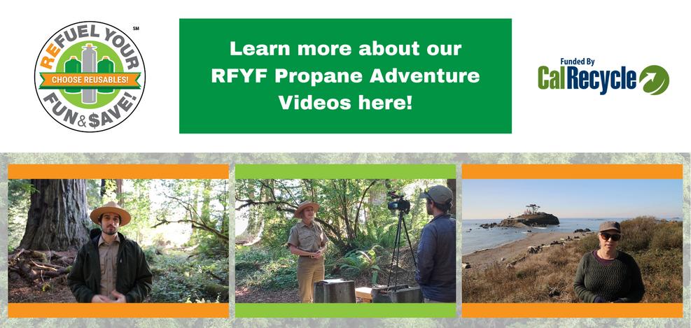 RFYF Propane Adventure Videos - Front Pa