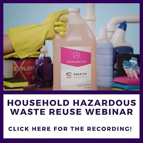Household Hazardous Waste Reuse