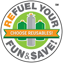 ReFuel Logo Badge (Reusable) SM - trans-