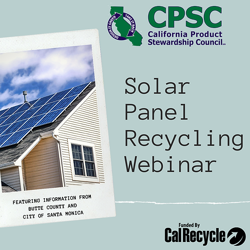Solar Panel Recycling in California