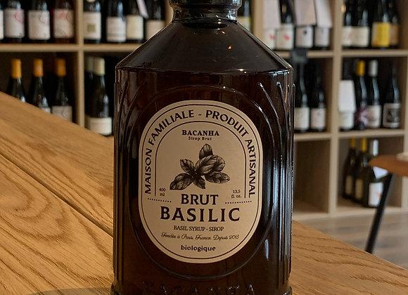 Sirop brut de basilic - BACANHA (400ml)