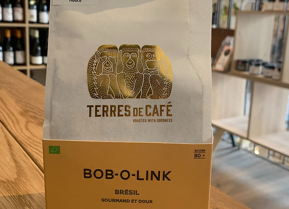 "Café moulu ""BOB-O-LINK"" - Terres de cafés 250g"