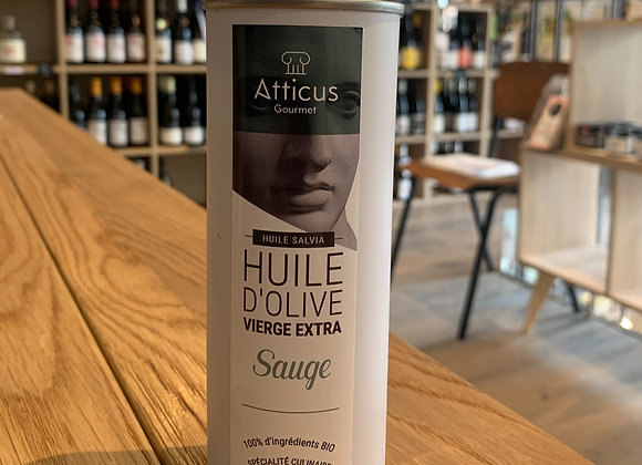 Huile d'olive extra vierge - Sauge (250ml)