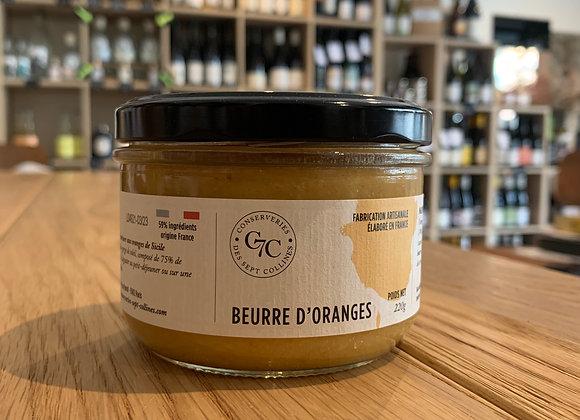 Beurre d'orange - Conserveries des 7 collines 220g