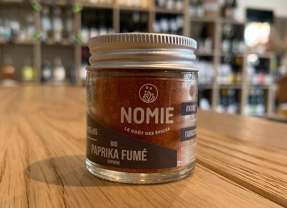 Nomie épice n°5 - Paprika Bio fumé 16g