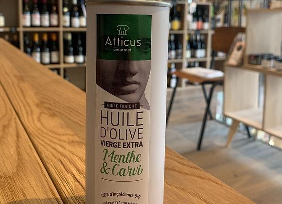Huile d'olive extra vierge - Menthe et Carvi (250ml)