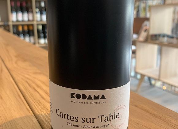 Thé noir, Pétales de fleur d'oranger - Cartes sur Table 80g