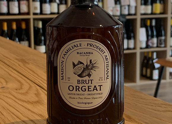 Sirop brut d'orgeat - BACANHA (400ml)