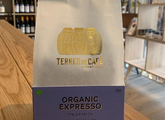 """Café en grain """"Organic Expresso"""" - Terres de café 250g"""