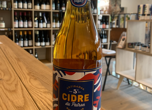Cidre bio brut du Patron - Le Coq Toqué (750ml)