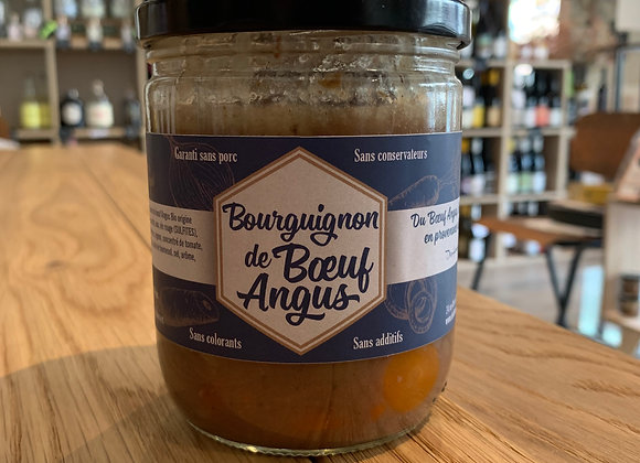 Bourguignon de bœuf Angus - 375g