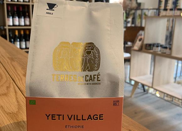 Café moulu Yeti Village - Terres de café 250g