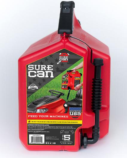 SureCan 5 Gallon-Gasoline