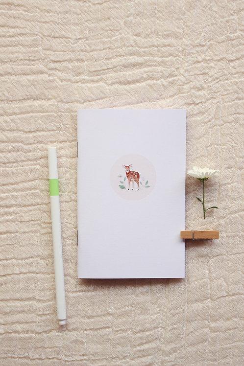 Caderninho A6 | Cervo Rosé