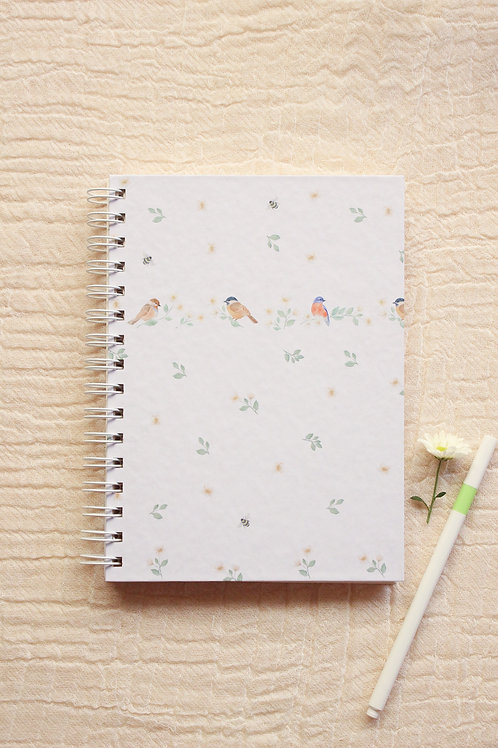 Caderno Passarinhos