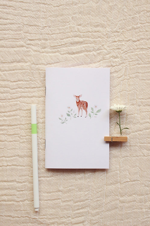 Caderninho A6   Cervo