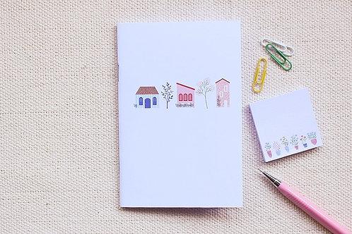 Caderninho A6 | Casinhas
