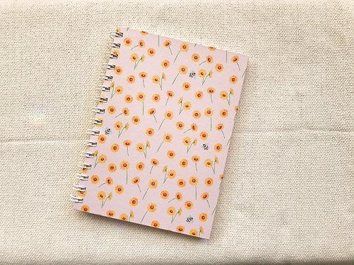 Caderno Girassol | Rosé