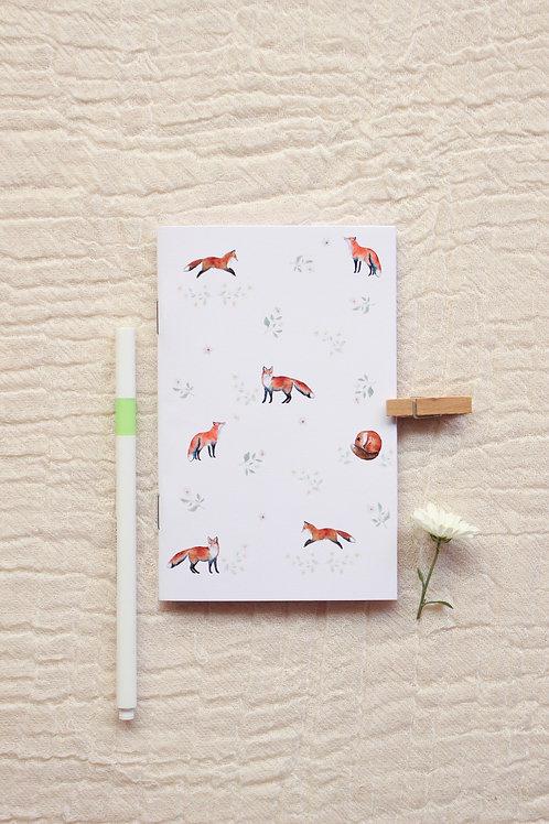 Caderninho A6   Minhas Raposinhas