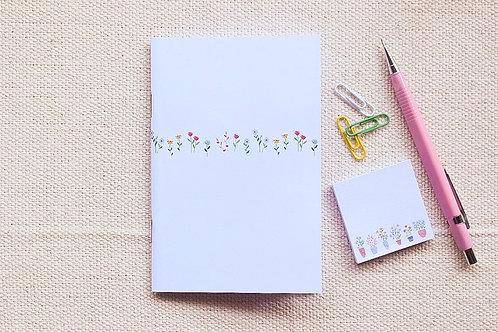 Caderninho A6 | Florzinhas