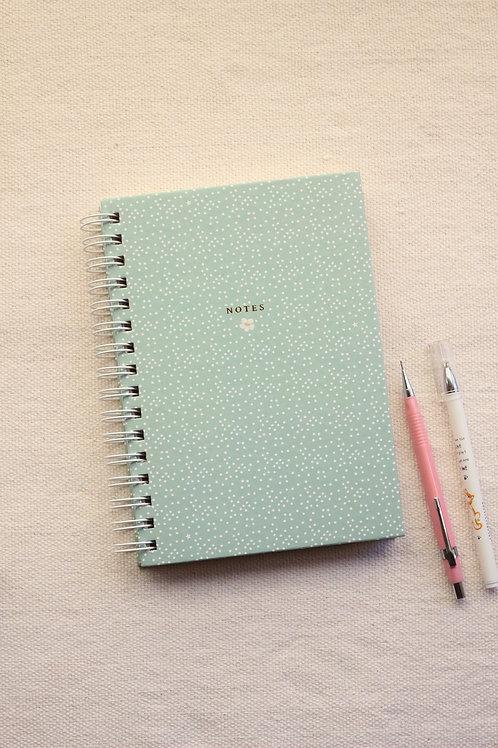 Caderno Pautado   Verdinho