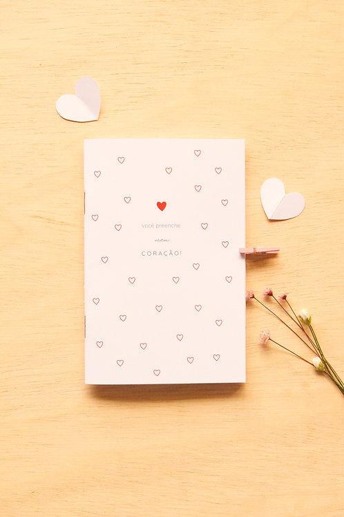 Caderninho A6 | Meu Coração