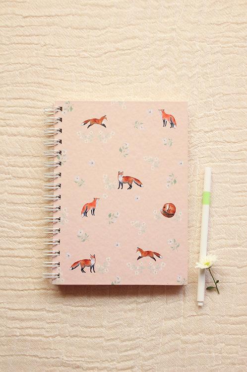 Caderno Minhas Raposas