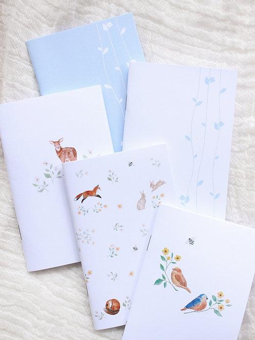 Kit Mini Caderninhos