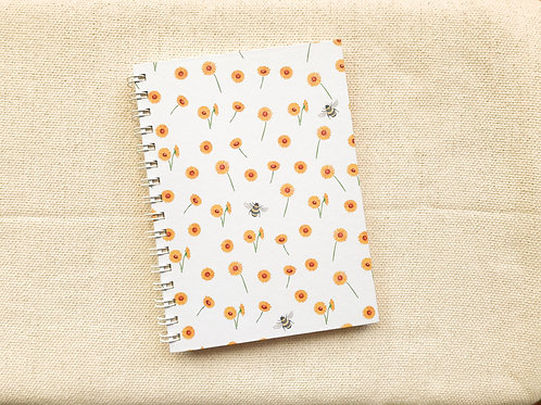 Caderno Girassol | Branco