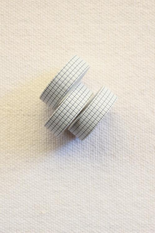 Washi Tape Grid | Branco