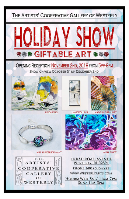 Event: Holiday Show featuring gift-able art