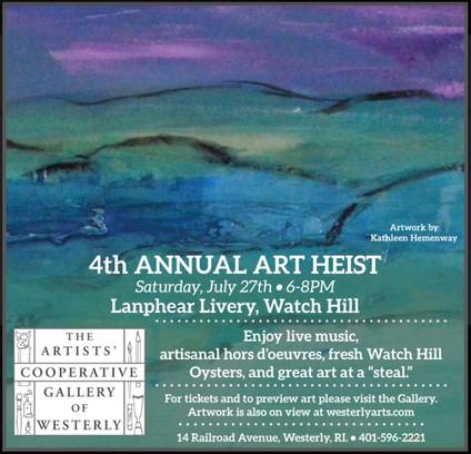 4th Annual Art Heist!