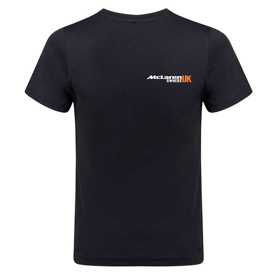 McLaren Owners UK T-shirt - Black
