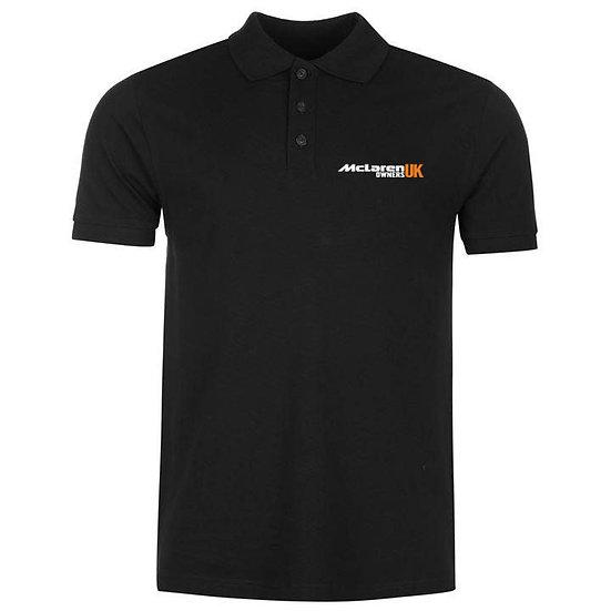 McLaren Owners UK Polo Shirt - Black