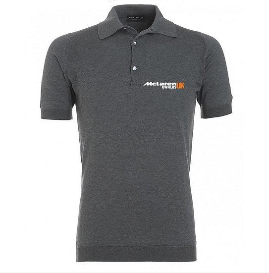 McLaren Owners UK Polo Shirt - Grey