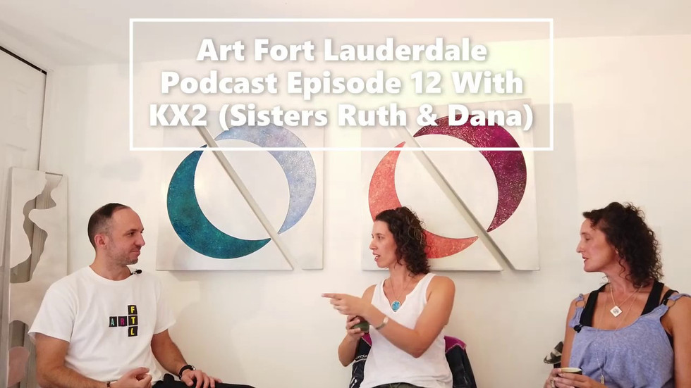 Podcast with Art Fort Lauderdale co-founder Evan Snow