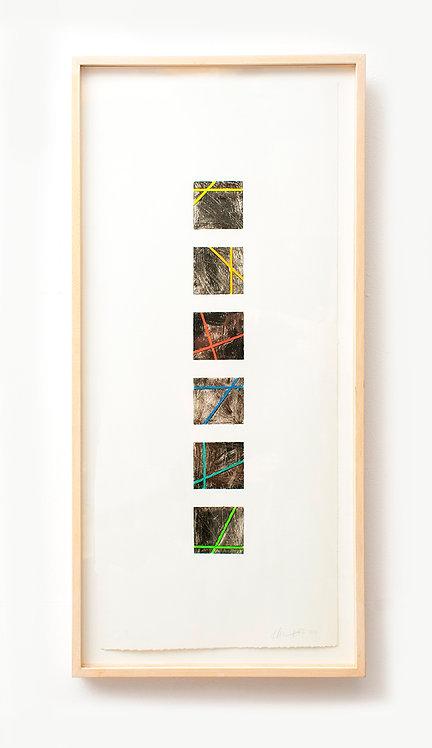 Framed Monotype