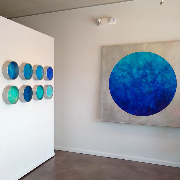 """""""Water"""", Whitewall Contemporary"""