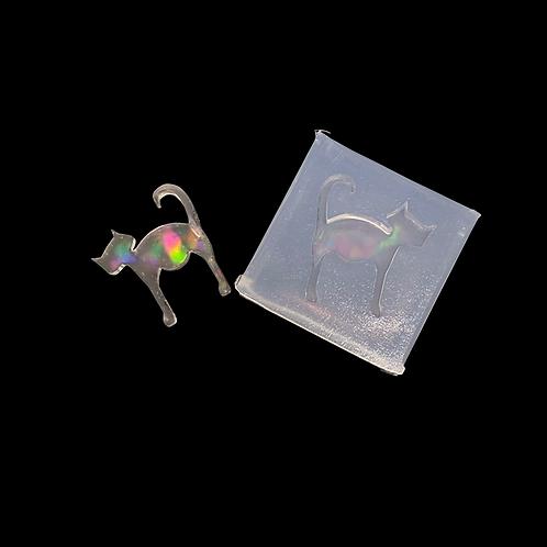 Mini Ohrring  Katze  Silikonform Special Effekt