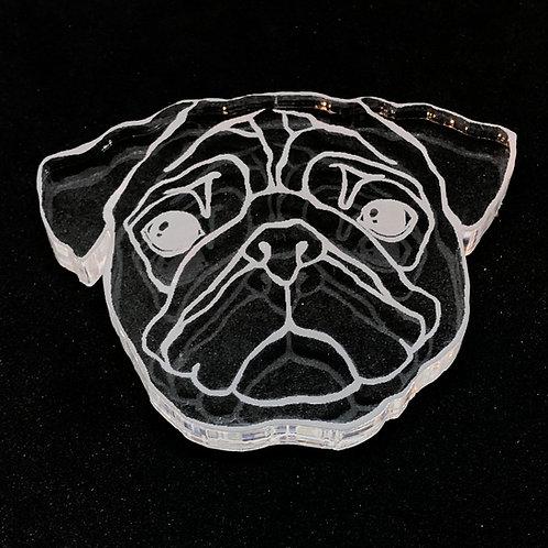 Mops Hund Silikonform