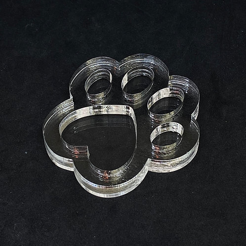 Pfote Shaker Silikonform