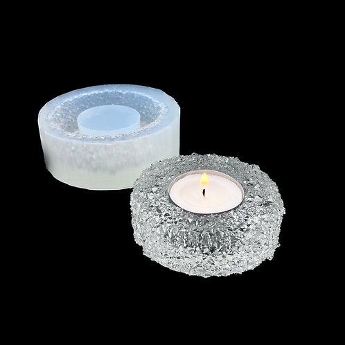 Teelichthalter Kristall Druzy Silikonform