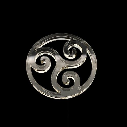 Triskel Ornament Anhänger  Silikonform
