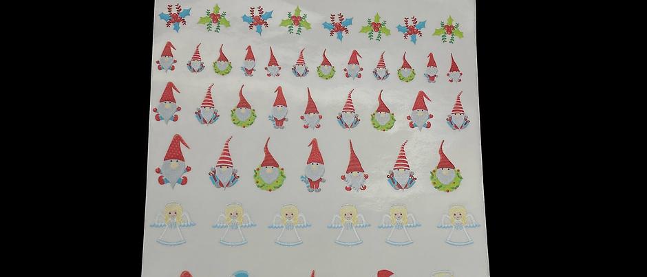 Weihnachten HDR Sticker Folie