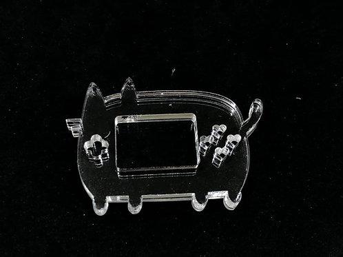 Katzen Game Toy Shaker Silikonform