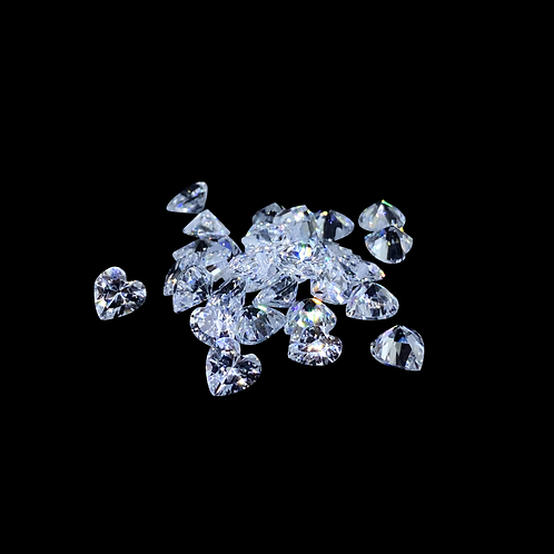 Resin Gems Herzform 5mm ❤️