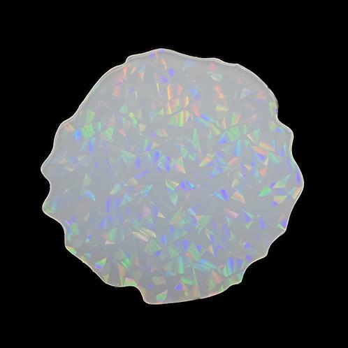 Holo Druzy Inlay Mold Geode